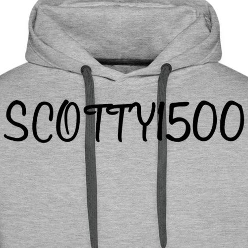 Scotty1500 Hoodie (White) - Men's Premium Hoodie