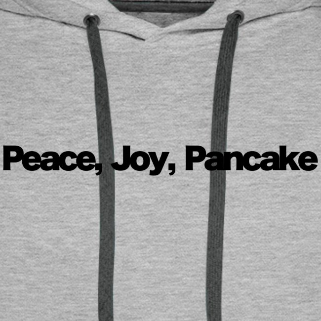 peace joy pankake black 2020