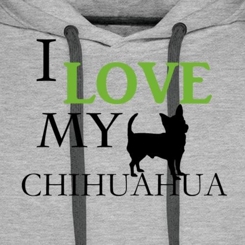 IlovemyChihuahua - Männer Premium Hoodie