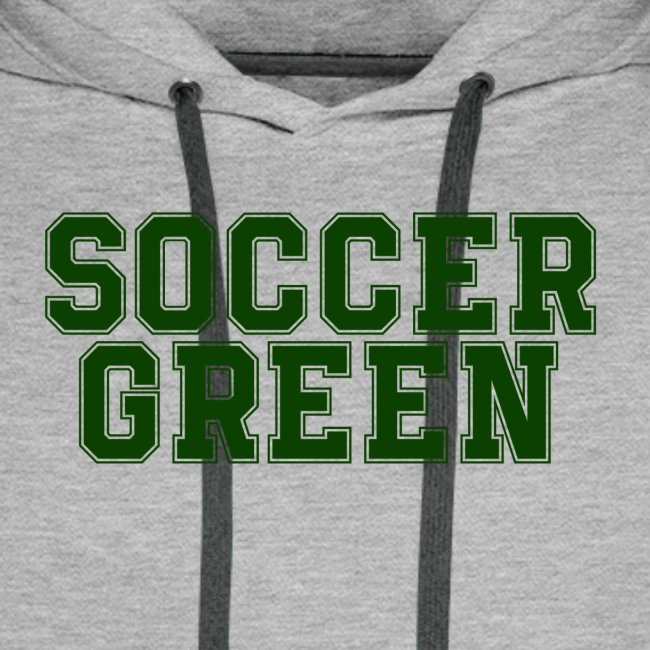 Soccer Green Style Text