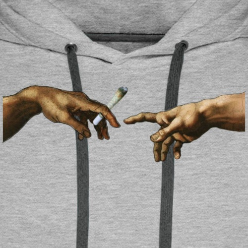 "T-shirt ""DEVOTION"" V1 - Bluza męska Premium z kapturem"