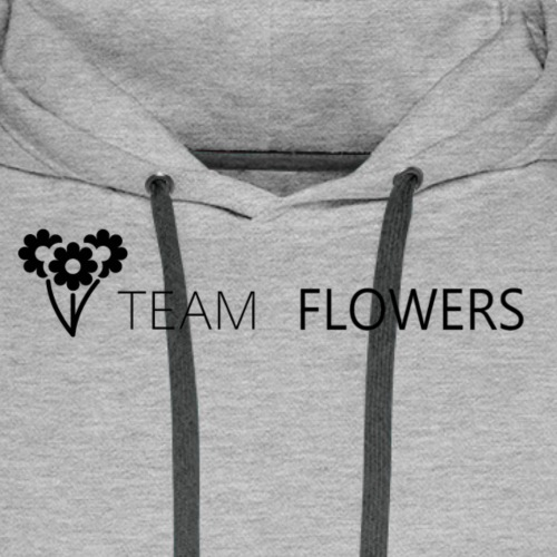 Team Flowers 2 - Premium hettegenser for menn