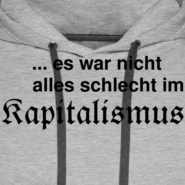 Kapitalismus (schwarz)