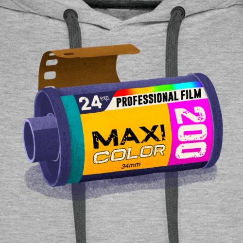 Maxi color photo casette 200 - Herre Premium hættetrøje