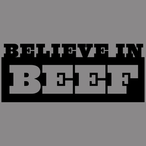 BELIEVE IN BEEF - Männer Premium Hoodie