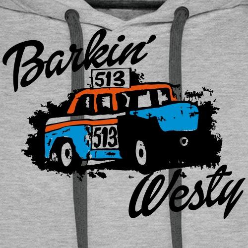 Barkin' Westy - Men's Premium Hoodie
