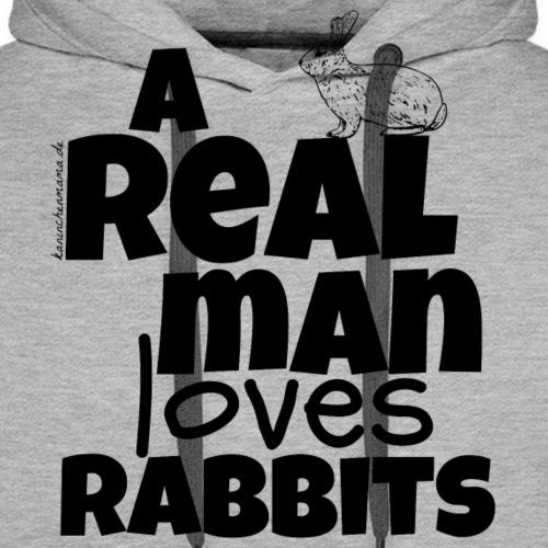 A REAL MAN - Männer Premium Hoodie