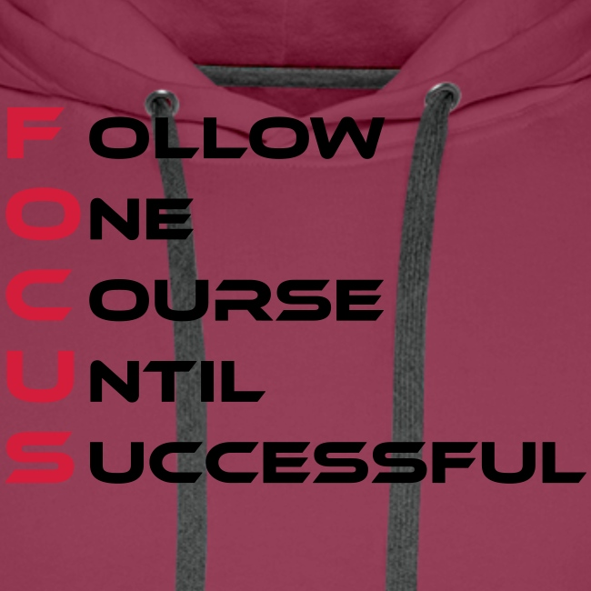 Follow one course until Successful