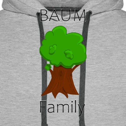 Baum Family - Männer Premium Hoodie
