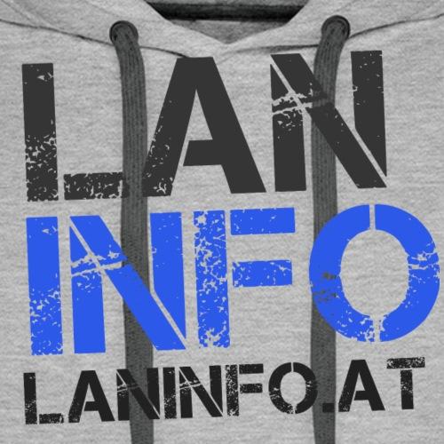 LANinfo Dark - Männer Premium Hoodie