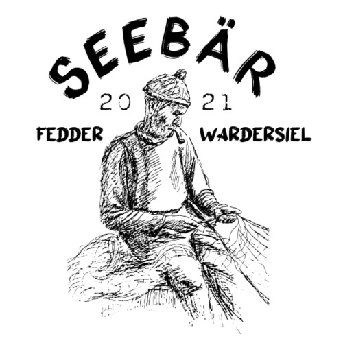 Seebär Fedderwardersiel - Männer Premium Hoodie