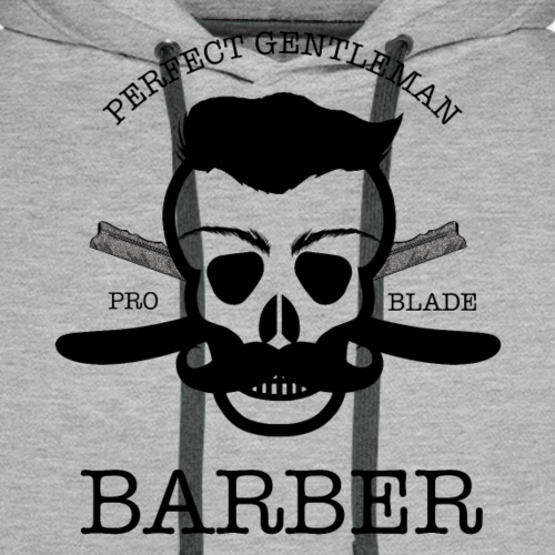 Perfect Gentleman Barber - Men's Premium Hoodie