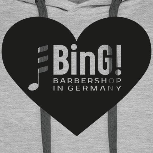 BinG Heart - Männer Premium Hoodie