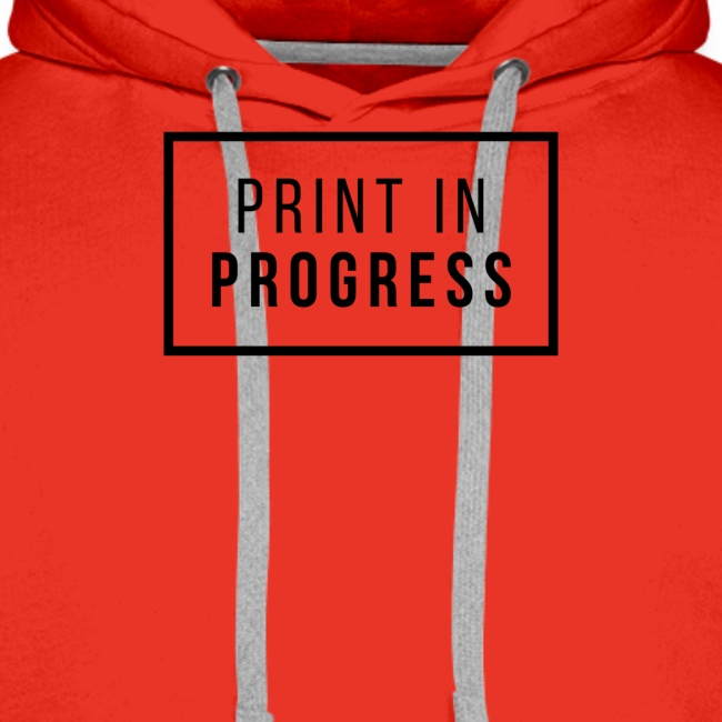 Print in Progress