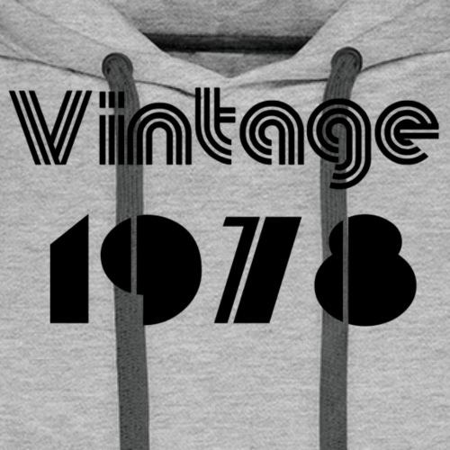 1978 - Sweat-shirt à capuche Premium pour hommes