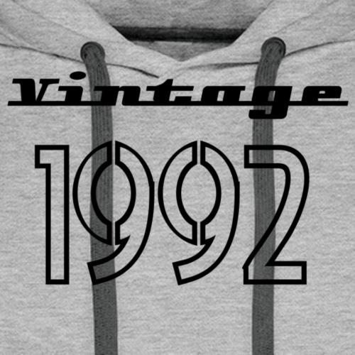 1992 - Sweat-shirt à capuche Premium pour hommes