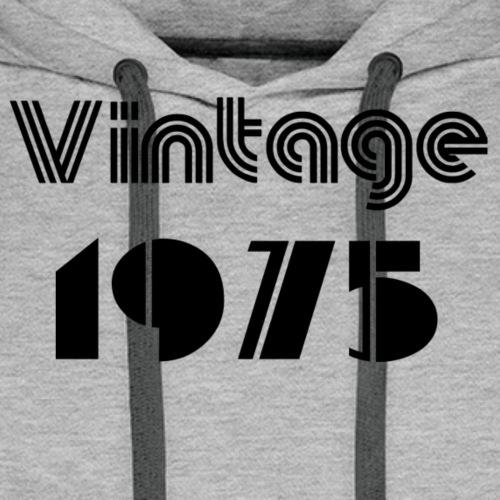 1975 - Sweat-shirt à capuche Premium pour hommes