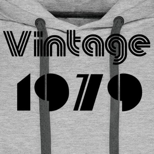 1979 - Sweat-shirt à capuche Premium pour hommes