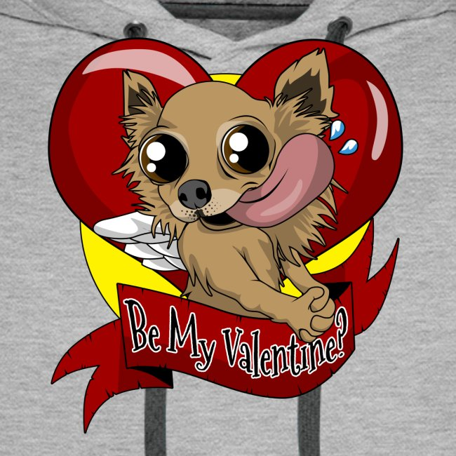 "Engla ""Be my valentine?"""