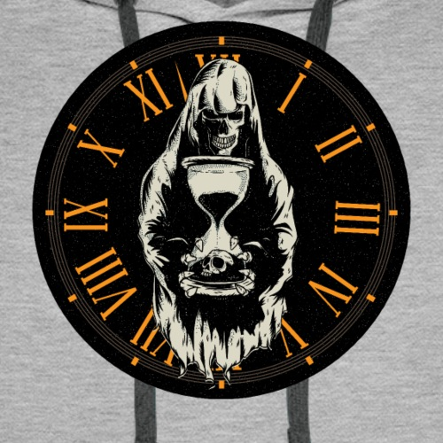 Time Waits For No Man - Men's Premium Hoodie