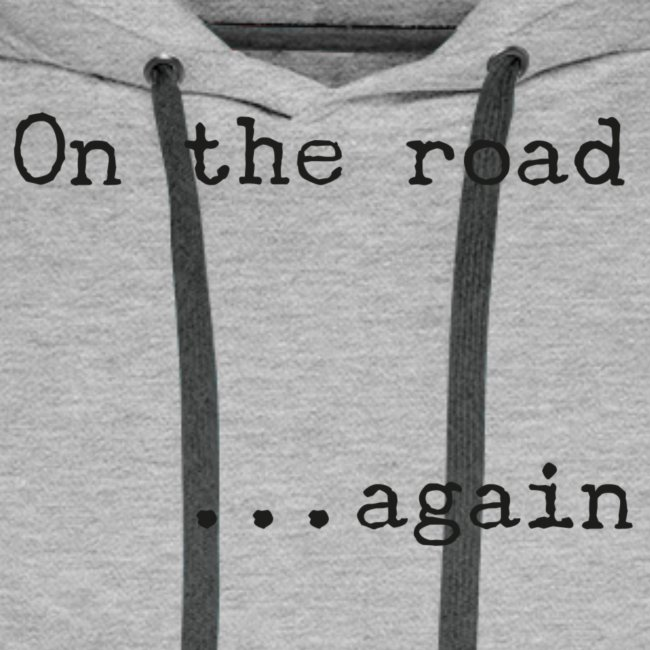 On the road... again