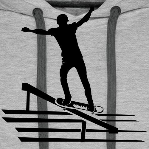 Skateboard - Männer Premium Hoodie