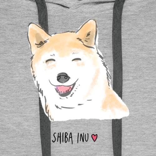 Shiba Inu - Sweat-shirt à capuche Premium pour hommes