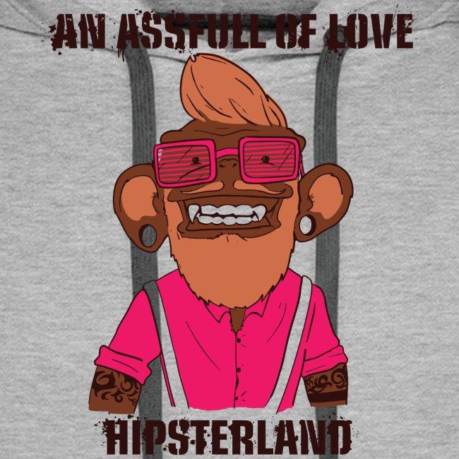 Hipsterland Affe