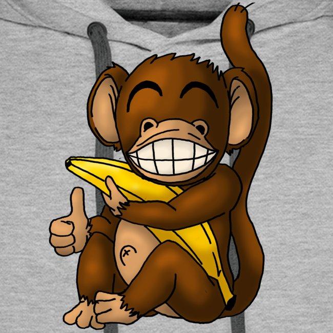 Super Fröhlicher Affe