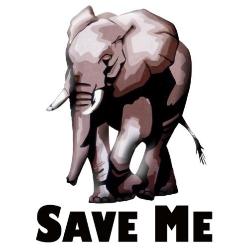 Elefant - SAVE ME - Männer Premium Hoodie