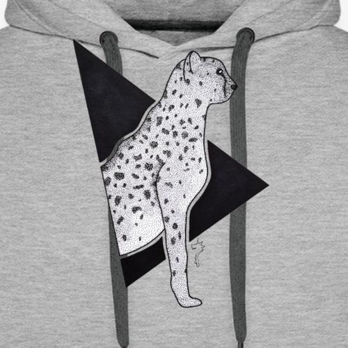 Guépard - Sweat-shirt à capuche Premium pour hommes