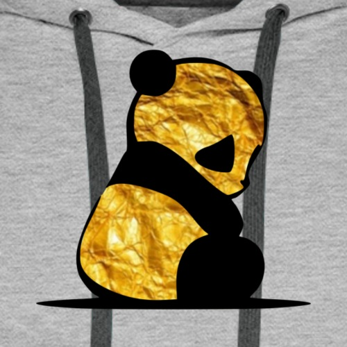 Gold Panda - Männer Premium Hoodie