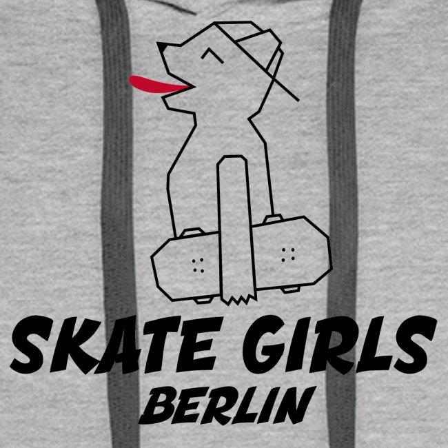 LOGO Skate Girls Berlin (black)