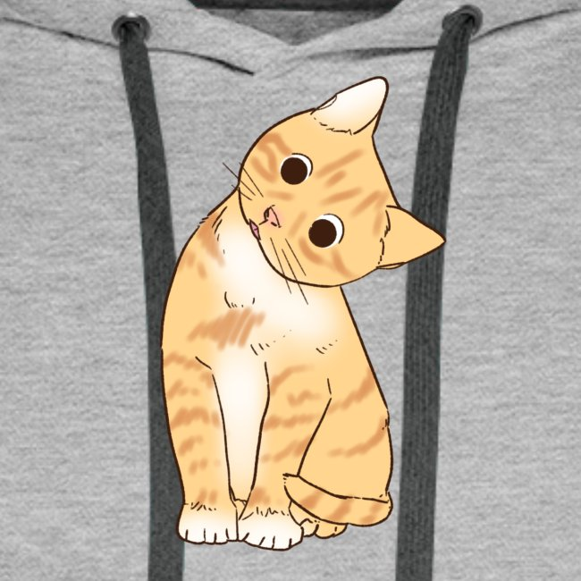 Pngtree cat orange cartoon 4992691