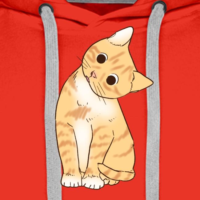 Pngtree cat orange cartoon 4992691