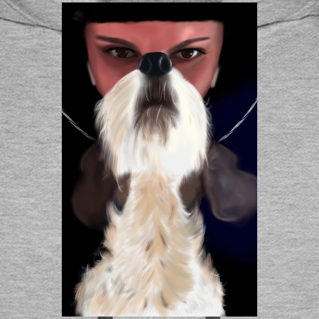 She and jack russell terrier