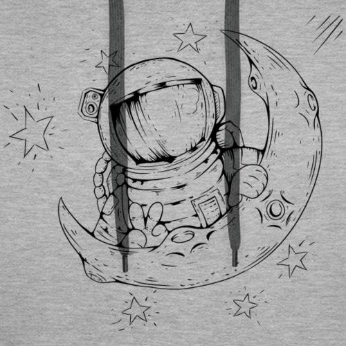 Astronauta - Sudadera con capucha premium para hombre