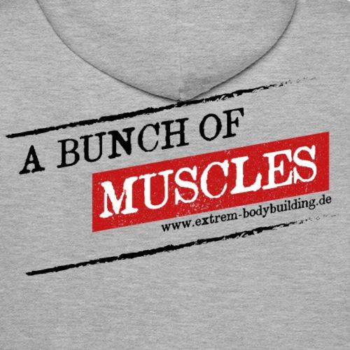 a bunch of muscles - Männer Premium Hoodie