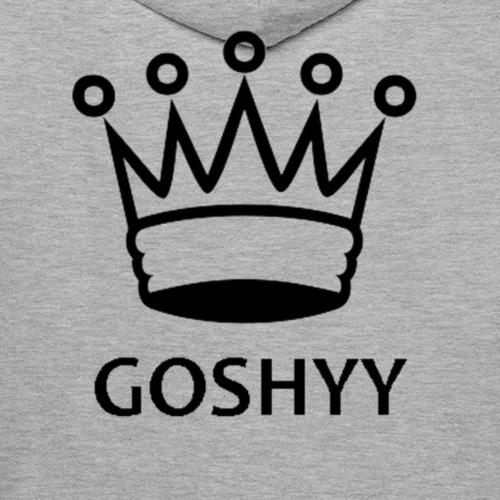 Goshyy ''King Merch'' Design - Men's Premium Hoodie
