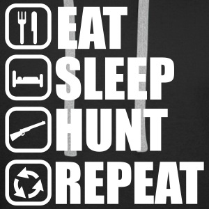 Eat sleep hunt - Hunter - Hunting - Men's Premium Hoodie