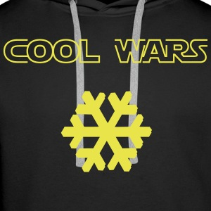 Cool_Wars - Sweat-shirt à capuche Premium pour hommes