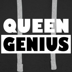 Queen Genius - Premium hettegenser for menn