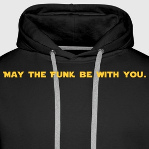 May the FUNK Be With You - Men's Premium Hoodie