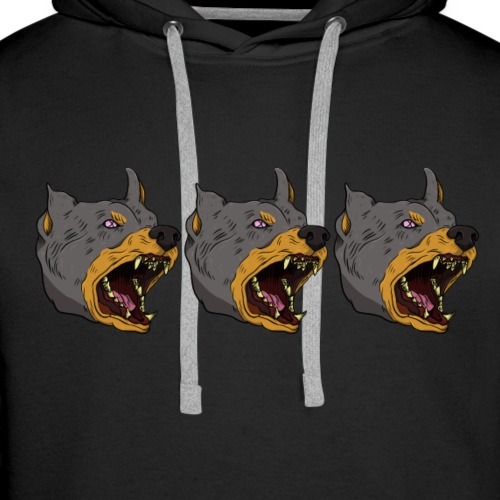 THREE ANGERY BOYS - Men's Premium Hoodie