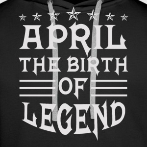 April Legend - Premiumluvtröja herr
