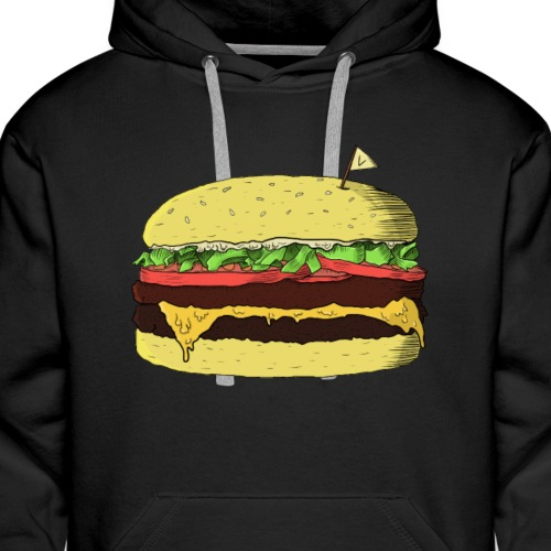MEAT REFUSER - Men's Premium Hoodie