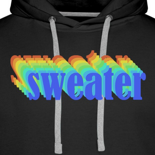 Retro simple sweater - Sweat-shirt à capuche Premium pour hommes