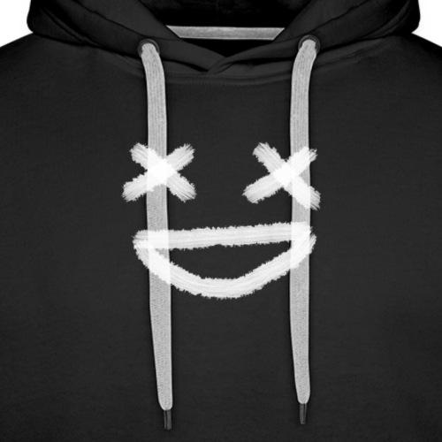 Scary A** Smiley - Premiumluvtröja herr