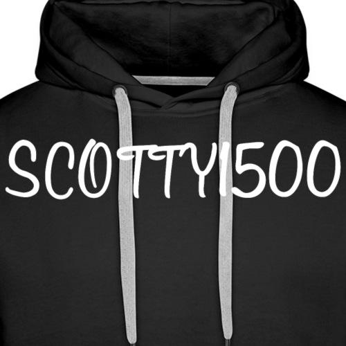 Scotty1500 Hoodie (Black) - Men's Premium Hoodie