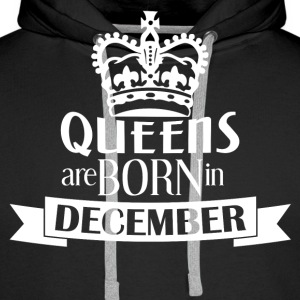 Queens Born December LIMITED - Männer Premium Hoodie
